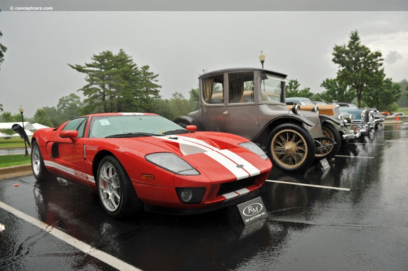 Ford Gt Coupe Fafpsy Chassis Information