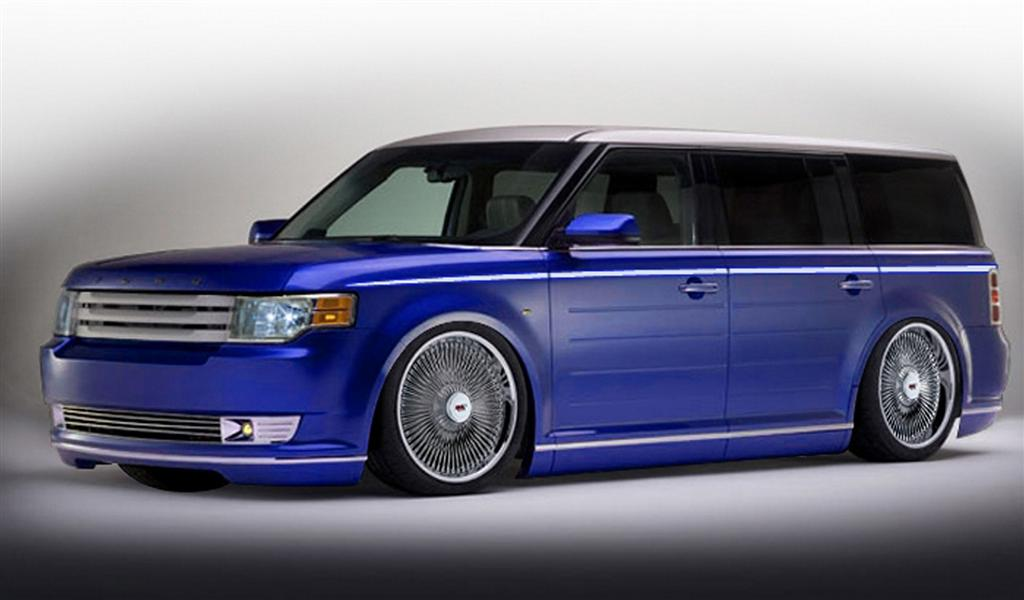 auction results and sales data for 2010 ford flex