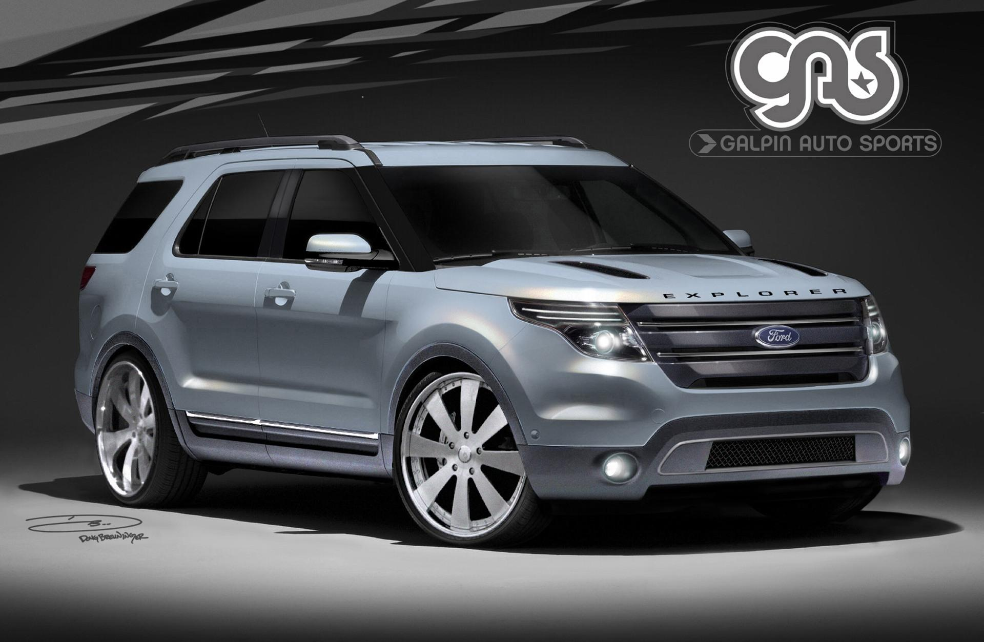 2011 Ford Explorer by Galpin Auto Sports News and Information