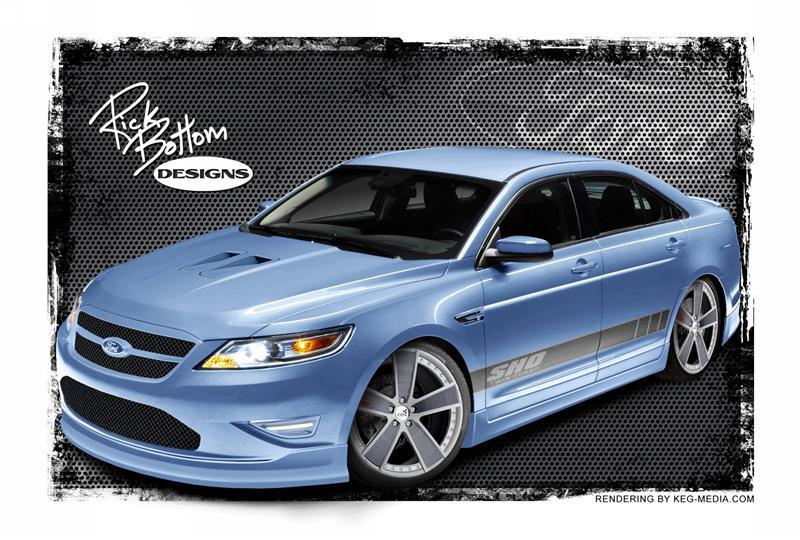 2011 Ford Taurus SHO by Rick Bottom Designs