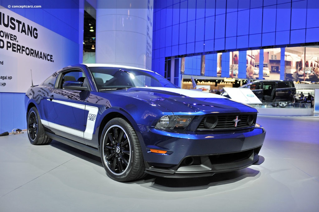 2012 ford mustang boss 302 kona blue and white news and. Black Bedroom Furniture Sets. Home Design Ideas
