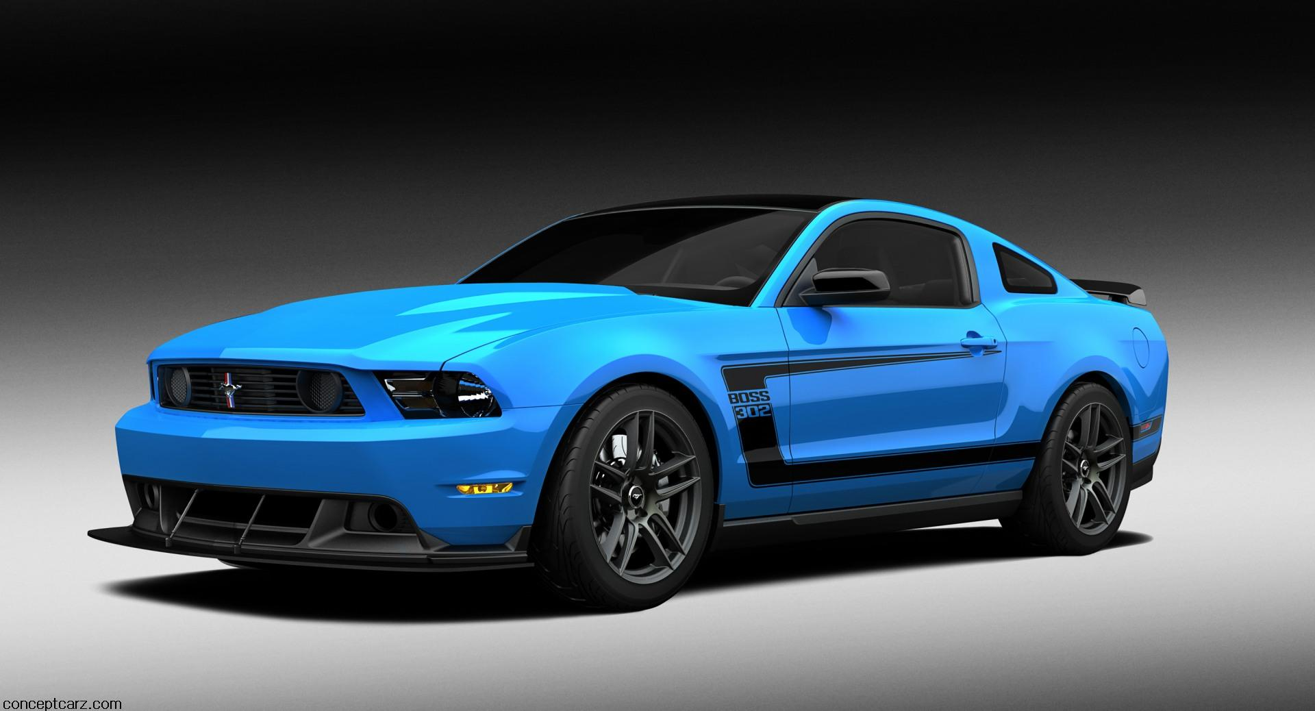 2012 Ford Mustang Grabber Blue Boss 302 Laguna Seca News and Information