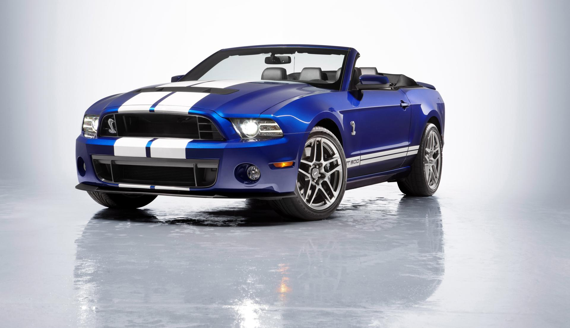 2013 Shelby Mustang GT500 Convertible News and Information