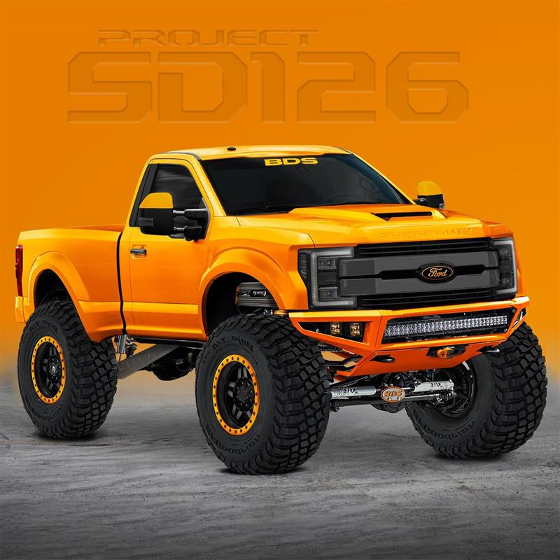 2017 Ford F-250 Project SD126 News and Information