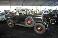 1927 Ford Model T.  Chassis number 14730788