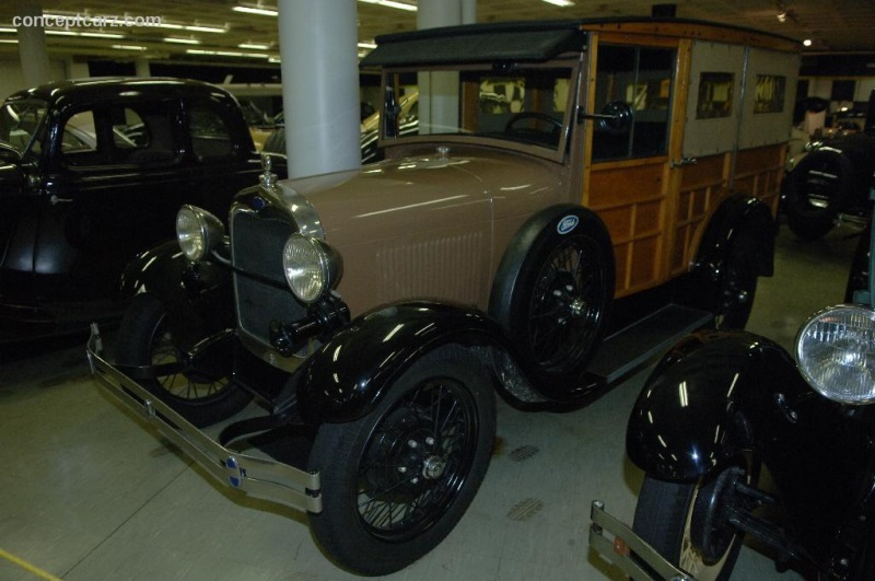 history of the model a ford