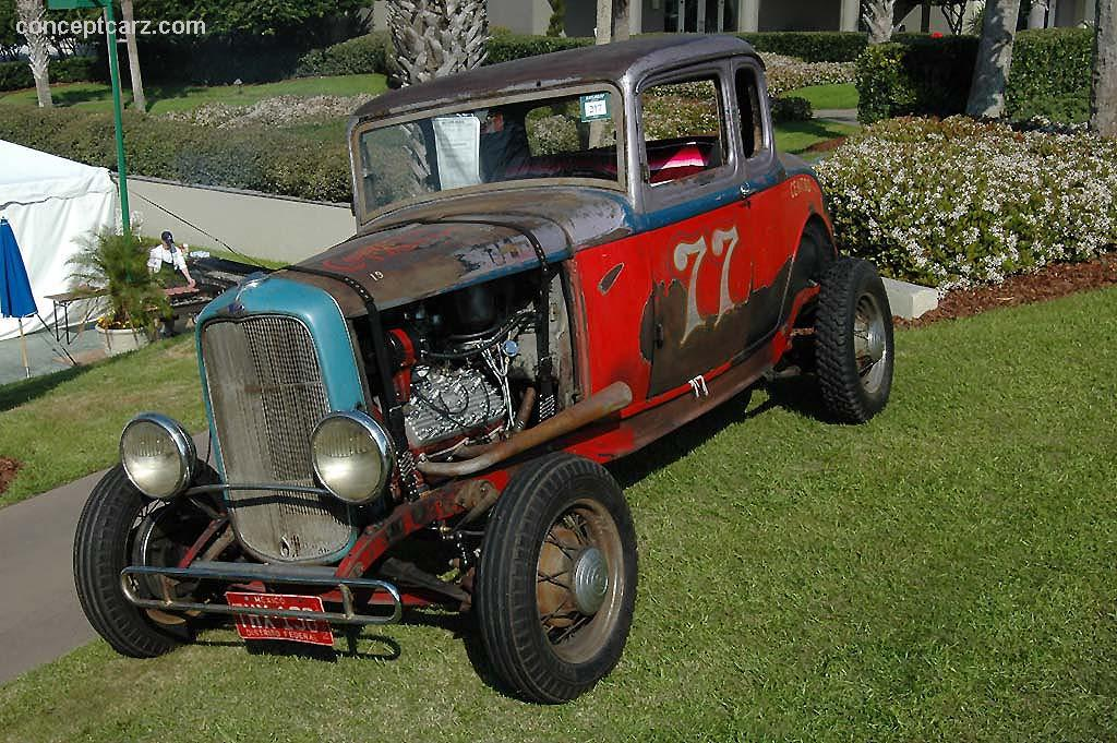 1932 Ford Model A Mexican Racer Image Chassis Number
