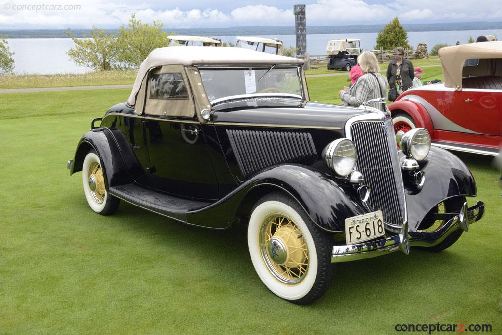 Auction Results And Sales Data For 1934 Ford Model 40