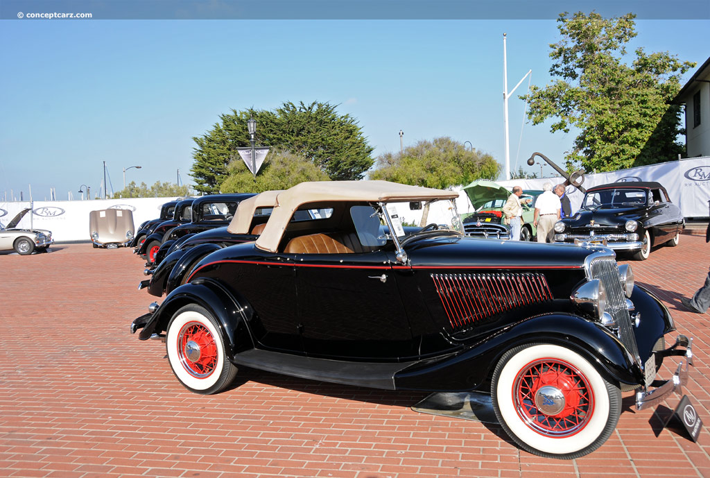 1934 Ford Model 40 technical and mechanical specifications