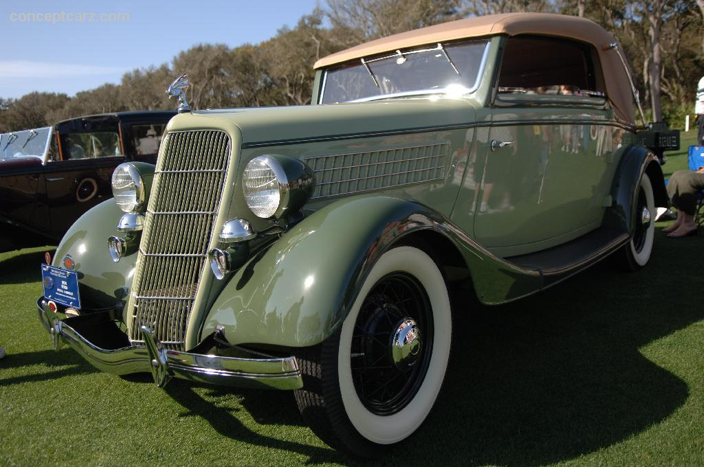 Ford Luxus Dr Cabrio Dv Ai on Custom 1950s Ford Convertible