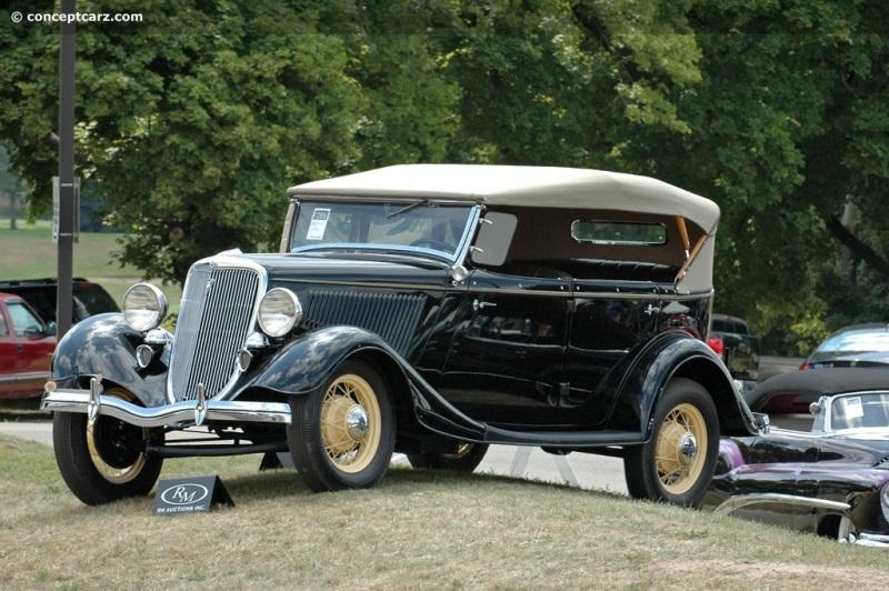 1934 Ford Model 40 DeLuxe | conceptcarz com