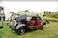 1935 Ford Model 48 German Special.  Chassis number 18-2640496
