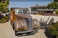 1937 Ford Model 78.  Chassis number 184005090
