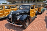 1939 Ford DeLuxe V8 Model 91A.  Chassis number 185186741