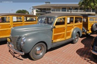 1940 Ford Deluxe.  Chassis number 185723766