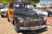 1946 Ford Super Deluxe.  Chassis number 99A1236365