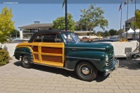 1947 Ford Super Deluxe.  Chassis number 1967487