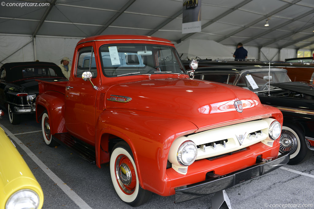 1953 Ford F 100 Pictures History Value Research News