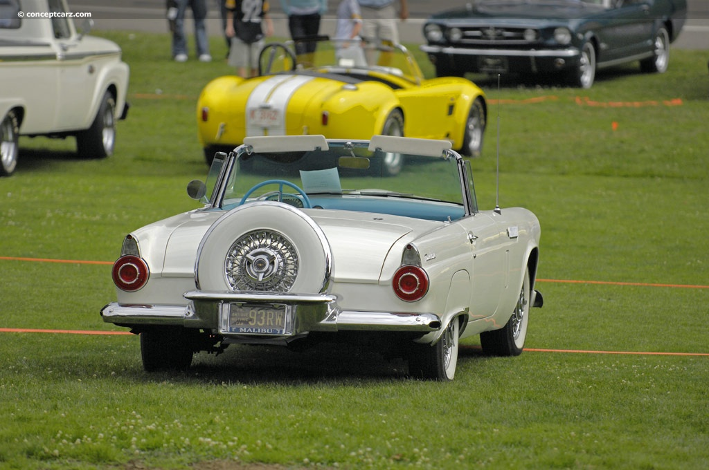 Auction Results And Sales Data For 1956 Ford Thunderbird