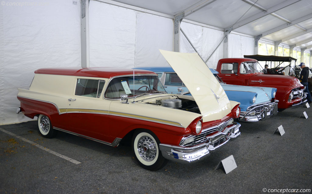 1957 Ford Courier History Pictures Value Auction Sales