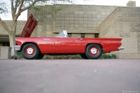 1957 Ford Thunderbird Model F.  Chassis number F7FH351668
