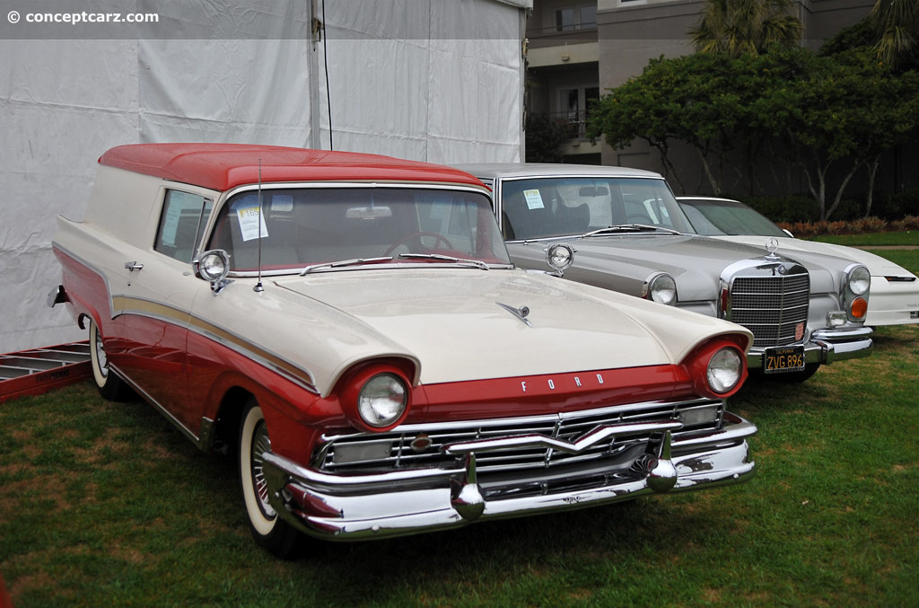 Auction Results and Sales Data for 1957 Ford Station Wagon