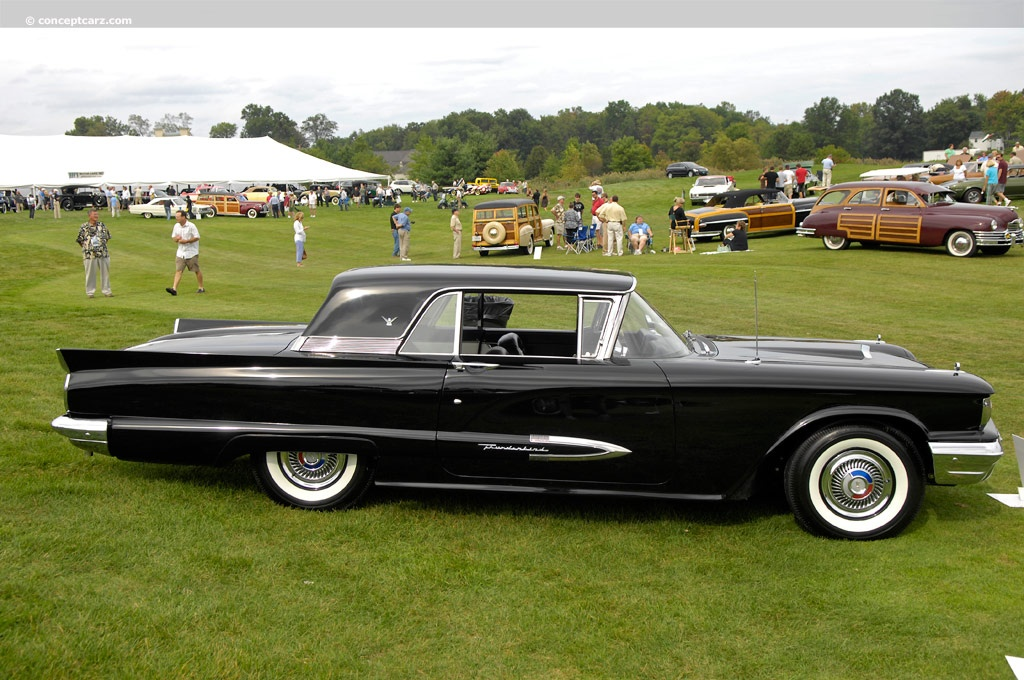Note The Images Shown Are Representations Of 1959 Ford Thunderbird