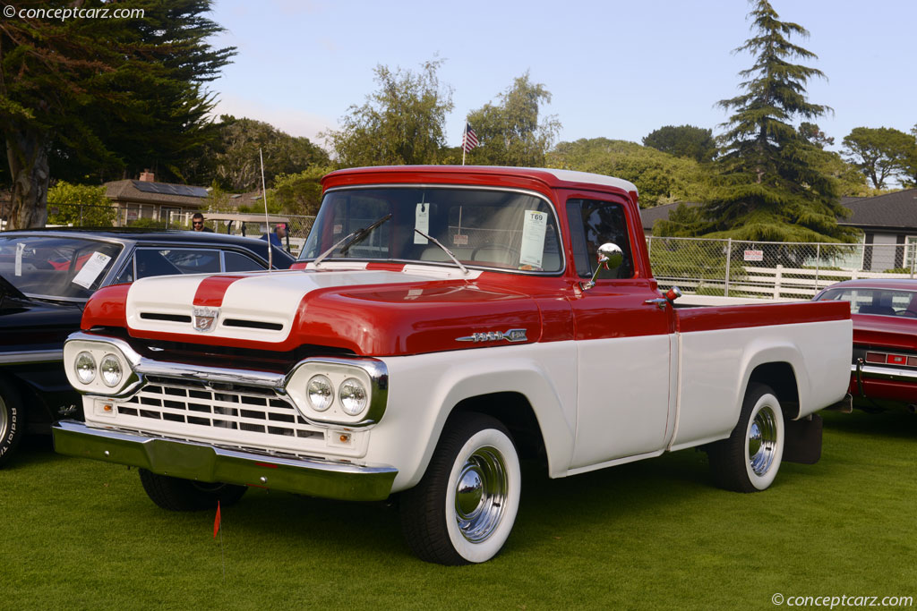 1960 Ford F 100 History Pictures Sales Value Research