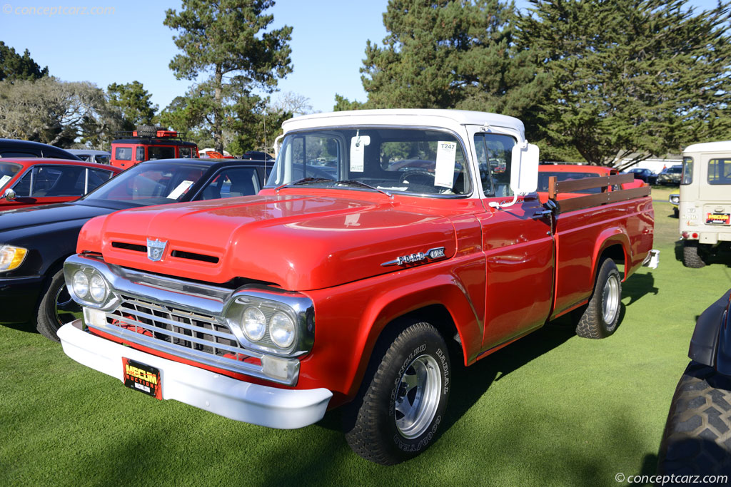 Auction Results and Sales Data for 1960 Ford F-100