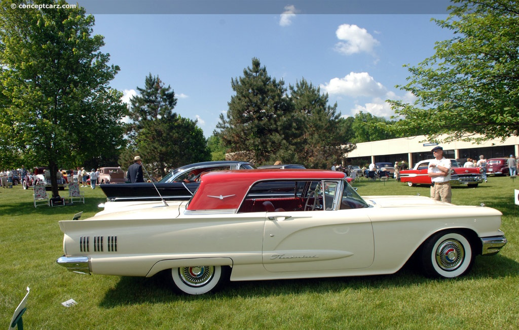 Auction Results And Sales Data For 1960 Ford Thunderbird