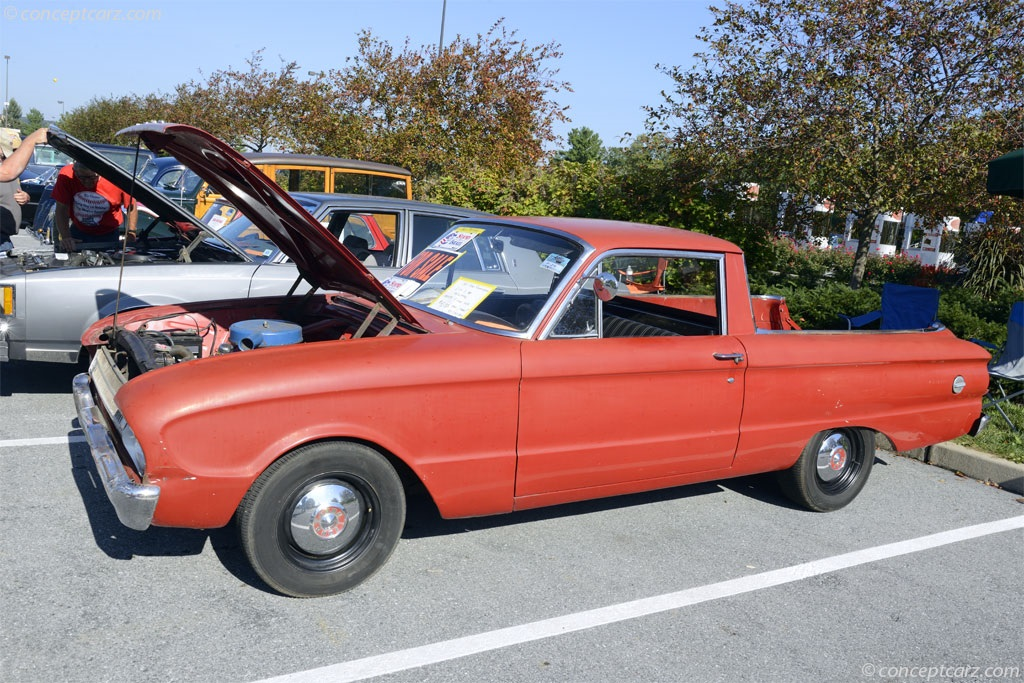1961 Ford Ranchero History Pictures Value Auction Sales Research