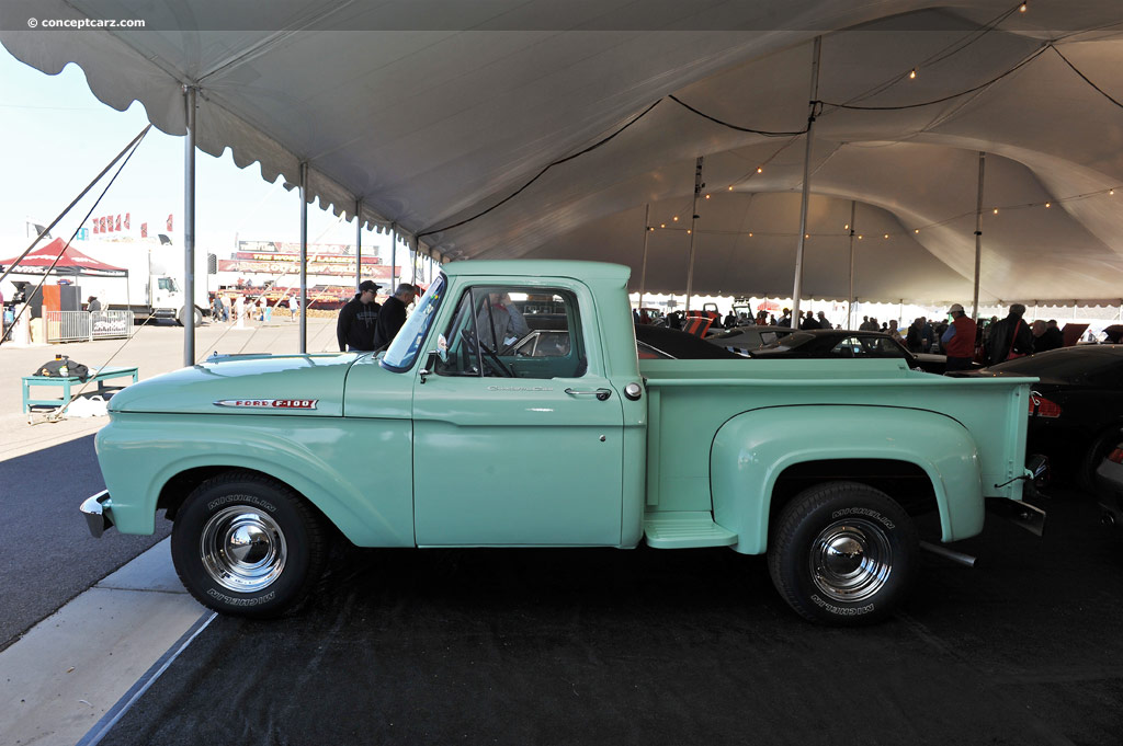 1961 Ford F100 Pictures History Value Research News