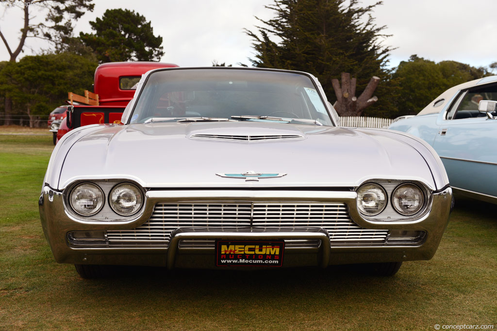 Auction Results And Sales Data For 1961 Ford Thunderbird