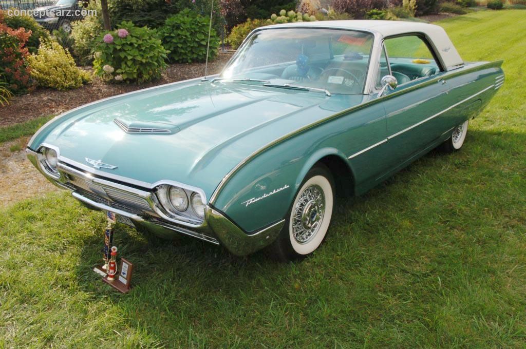 1961 Ford Thunderbird Pictures History Value Research News