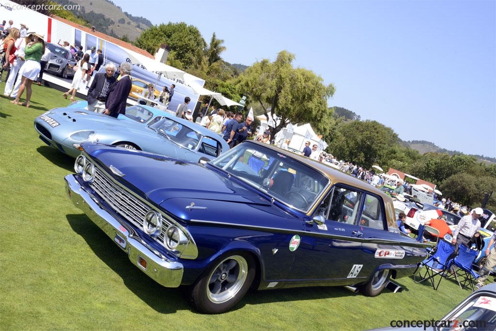 Note The Images Shown Are Representations Of 1962 Ford Fairlane