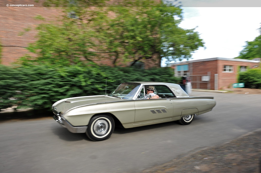 1963 Ford Thunderbird History Pictures Value Auction Sales Research And News