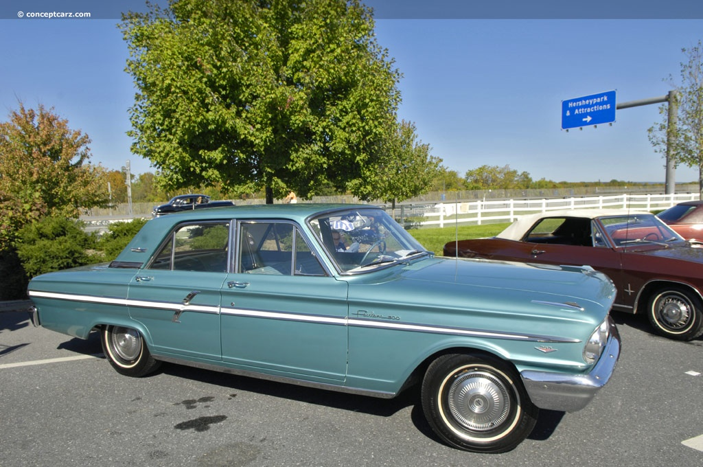 Default on 1963 ford falcon v8