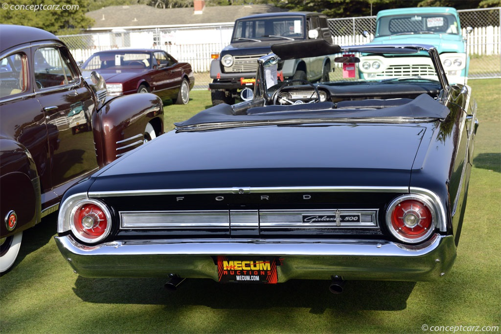 1964 Ford Galaxie 500.  Chassis number 4J65X107639