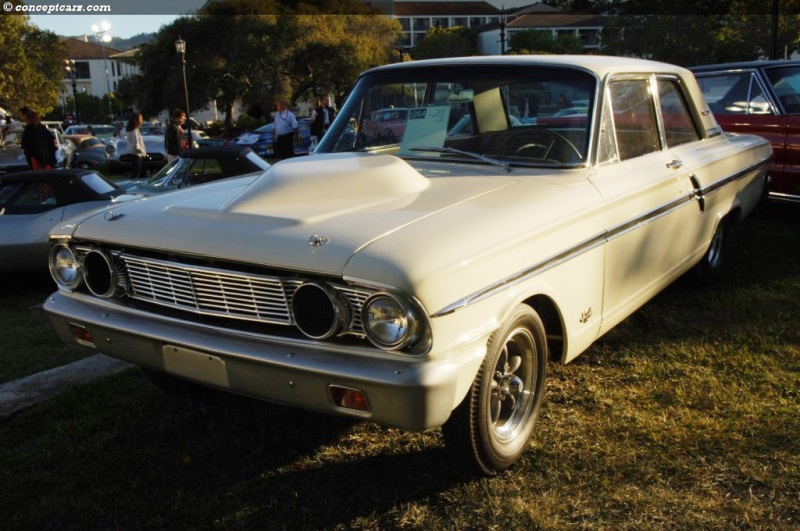 Chassis 4F41K167198 1964 Ford Fairlane chassis information