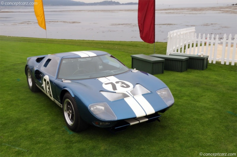 Ford Gt Coupe Gt  Chassis Information