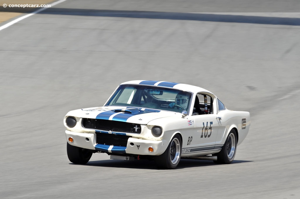 1965 Shelby Mustang Gt350 Image Chassis Number Sfm5s075