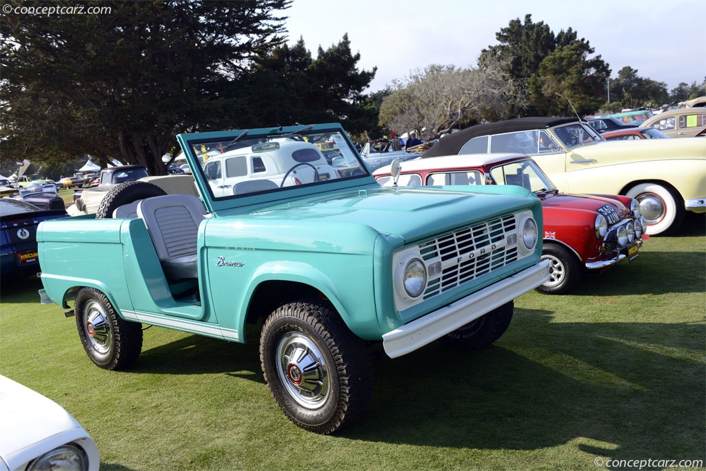 1966 Ford Bronco Technical And Mechanical Specifications