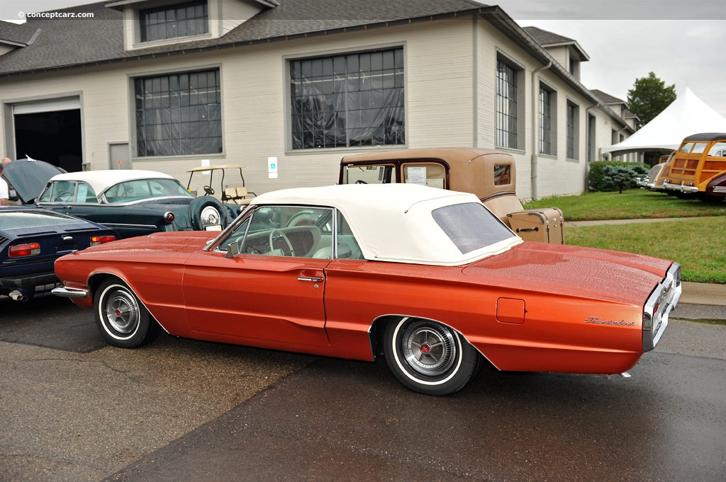 Auction results and sales data for 1966 Ford Thunderbird ...