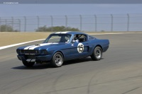1966 Ford Shelby Mustang GT350.  Chassis number SFM6S315
