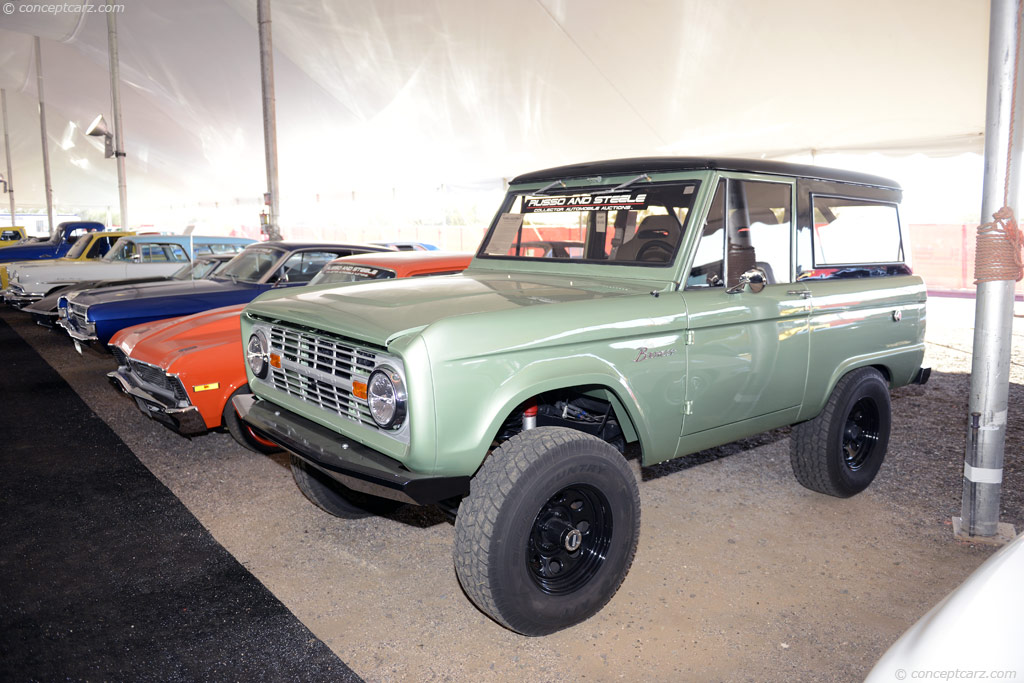 1966 Ford Bronco Pictures History Value Research News