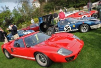 1966 Ford GT40.  Chassis number 1072