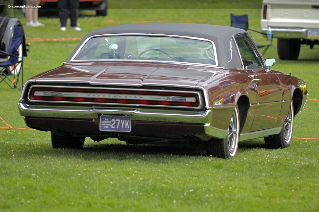 Note The Images Shown Are Representations Of 1967 Ford Thunderbird