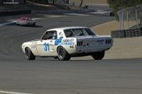 1967 Ford Shelby Mustang GT 350.  Chassis number 7R01K21830