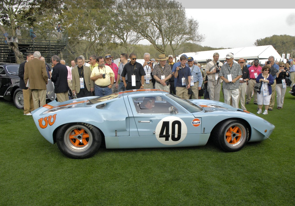 Dh Auto Sales >> Auction Results and Sales Data for 1968 Ford GT40