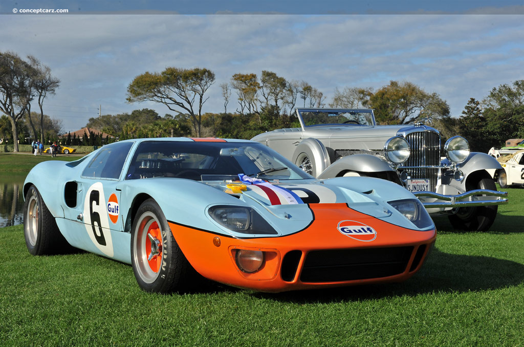 Ford Gt 2018 >> 1968 Ford GT40 Image. Chassis number P/1075. Photo 111 of 137